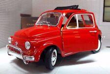 Modellini statici auto verde per Fiat