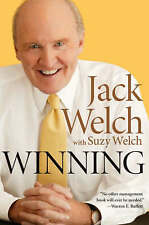 USED (VG) Winning: The Ultimate Business How-To Book by Jack Welch and Suzy Welc