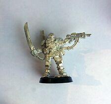 40k Kasrkin Stormtrooper Sergeant Citadel Metal OOP Imperial Guard Tempestus