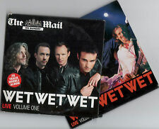 WET WET WET: LIVE - PROMO 2 CD SET (2006) 20 TRACKS / SWEET LITTLE MYSTERY ETC