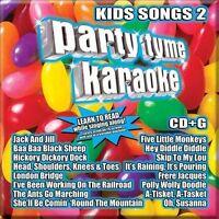 NEW Party Tyme Karaoke - Kids Songs 2 [16-song CD+G] (Audio CD)