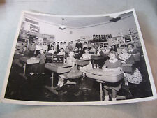 Amazing 1956 ROY School in Chicago 6th Grade Class Black and White Photograph