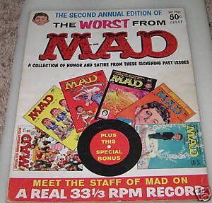 Worst From Mad #2 without Record, Fine Condition