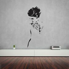 Wall Stickers Vinyl Decal Beautiful Woman Home Decor z1218