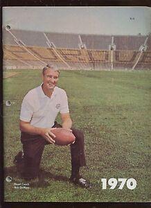 1970 NCAA Football Purdue Football Blue Book Media Guide / Yearbook