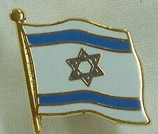 DISTINTIVO METALLO BANDIERA ISRAELIANA SPILLA ISRAELE ISRAELI FLAG METAL PIN