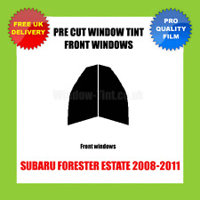 SUBARU FORESTER ESTATE 2008-2011 FRONT PRE CUT WINDOW TINT KIT