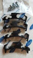 4x Gen Ford Fuel & Brake Pipe Clips Escort Mk3/4, Sierra XR3i,RS Turbo, Cosworth