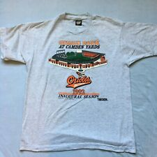 New listing Vtg Baltimore Orioles 1992 Camden Yards Mlb T-shirt Men's Xl Usa Made