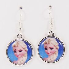 ELSA FROZEN EARRINGS disney christmas anna girls cute gift party olaf princess