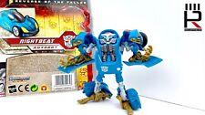 2009 Hasbro Transformers ROTF NIGHTBEAT : 100% COMPLETE + CARD & INSTRUCTIONS