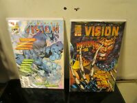 VISION: THE MARVEL FAN MAGAZINE LOT BAGGED BOARDED WOLVERINE BEAST COVERS~