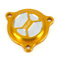 CNC Gold Billet Oil Filter Covers Caps For Suzuki DRZ400S DRZ400SM 2000-2015