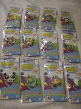 Moshi Monsters pin badges set of 12