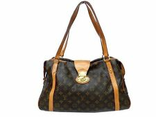 Auth LOUIS VUITTON Stresa GM Shoulder Bag Handbag Monogram Canvas M51188 0342