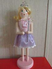 Ballerina Shabby Pink Purple Nutcracker Ballet Girl  Princess Crown Fairy