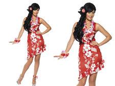HAWAIANO beauty donna costume Hula Ghirlanda ragazza festa spiaggia vestito