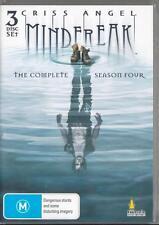 Criss Angel Mindfreak Season 4 - & R4 DVD 3 Discs Local Post