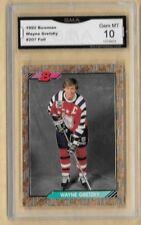 1992 Bowman GOLD Wayne Gretzky #207 GRADED GMA 10 GEM MT