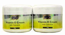 2 x Jars FSC Vitamin E Cream with Calendula 100g