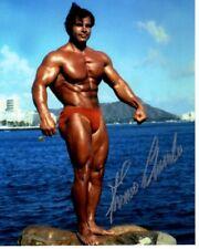 FRANCO COLUMBU Signed BODYBUILDER Photo w/ Hologram COA