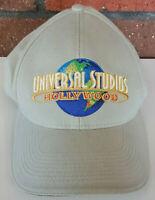 Universal Studios Hollywood - Adjustable Hat Cap - Ivory/White - Vintage Hat