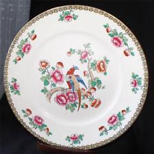"Antiq WHIELDON WARE F.Winkle Co Semi-Porcelain England PHEASANT 10"" Dinner Plate"