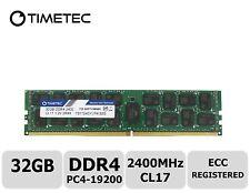 Timetec Samsung IC 32GB DDR4 2400MHz PC4-19200 Registered ECC 1.2V CL17 2Rx4 RAM
