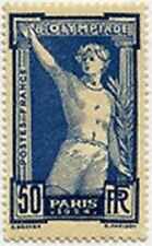 "FRANCE STAMP TIMBRE N° 186 "" JEUX OLYMPIQUES PARIS 1924 , 50 C "" NEUF xx TTB"