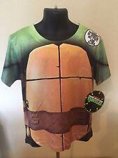 NWT Boys TEENAGE MUTANT NINJA TURTLES Costume Style T-shirt 5/6 5 6 Medium M