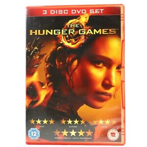 The Hunger Games 3-DVD Special Edition Jennifer Lawrence DVD R2 Good Condition