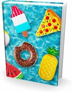 [1-Pack] Large 8x10 Hardcover Textbook Stretchable Fabric Book Covers