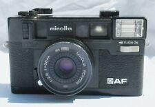 Vintage MINOLTA HI-MATIC AF 35mm point and shoot camera