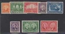 B6957: Canada #141-145, 146-148 Mint, VF, NH; CV $156