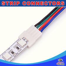 10 X 10mm tira de 4pin para Conector de Cable con diseño de bloqueo sólido para RGB LED Tira