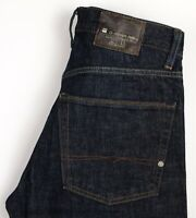 G-Star Brut Hommes Jeans Jambe Droite Taille W30 L28 ARZ1337