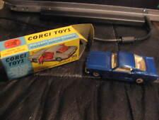 VINTAGE CORGI TOYS  ORIGINAL BOX #320 FORD MUSTANG FASTBACK 2+2 w/dog in back