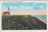 Postcard Nantucket Island MA c1930s Sankaty Head Lighthouse