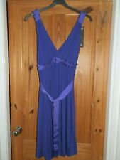 Topshop Maternity Size 14 Purple Strappy Dress. New With Label.