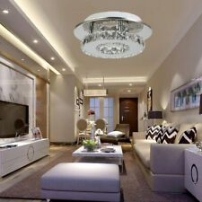 Pendant Ceiling Lamp Crystal Fixture Chandelier Flush Lighting Bright Light HT