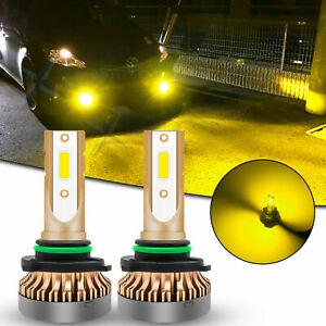 JDM Golden Yellow LED Fog Light Bulb Lamp 9006 For Toyota Tundra Corolla 4Runner