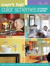 Can't Fail Color Schemes--Kitchen & Bath: How to Choose Color for Stone and Tile