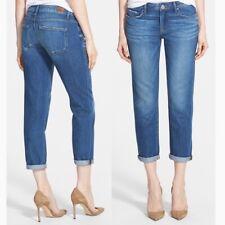 Paige 28 Jimmy Jimmy Crop Quincy Wash Denim Jeans