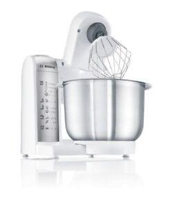 Bosch Küchenmaschine MUM48W1 600W Edelstahlschüssel NEU Solo