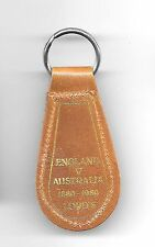 1880-1980 ENGLAND v AUSTRALIA LORDS CENTENARY TEST ~  KEYRING