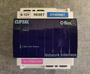 """CLIPSAL C-BUS NETWORK INTERFACE """"5500CN2"""" (updated model)"""