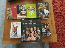 Selection of second hand WWE books