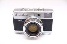 Ricoh Super Shot Spring-Driven 35mm Rangefinder Film Camera 43mm f1.7 lens