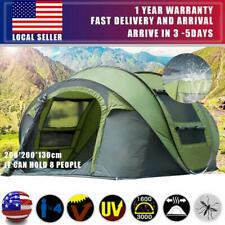USA 4-6 Person Hydraulic Camping Automatic Pop Up Tent Waterproof Outdoor Hiking