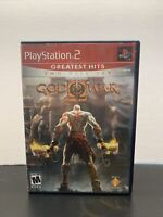 God of War II Sony PlayStation PS2 Video Game Complete CIB RARE BOTH DISCS